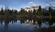 Zrcadlení Grand Teton