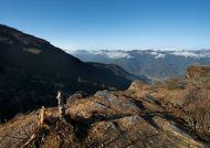Výhled do údolí Haa