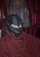 Žena s ománskou burkou